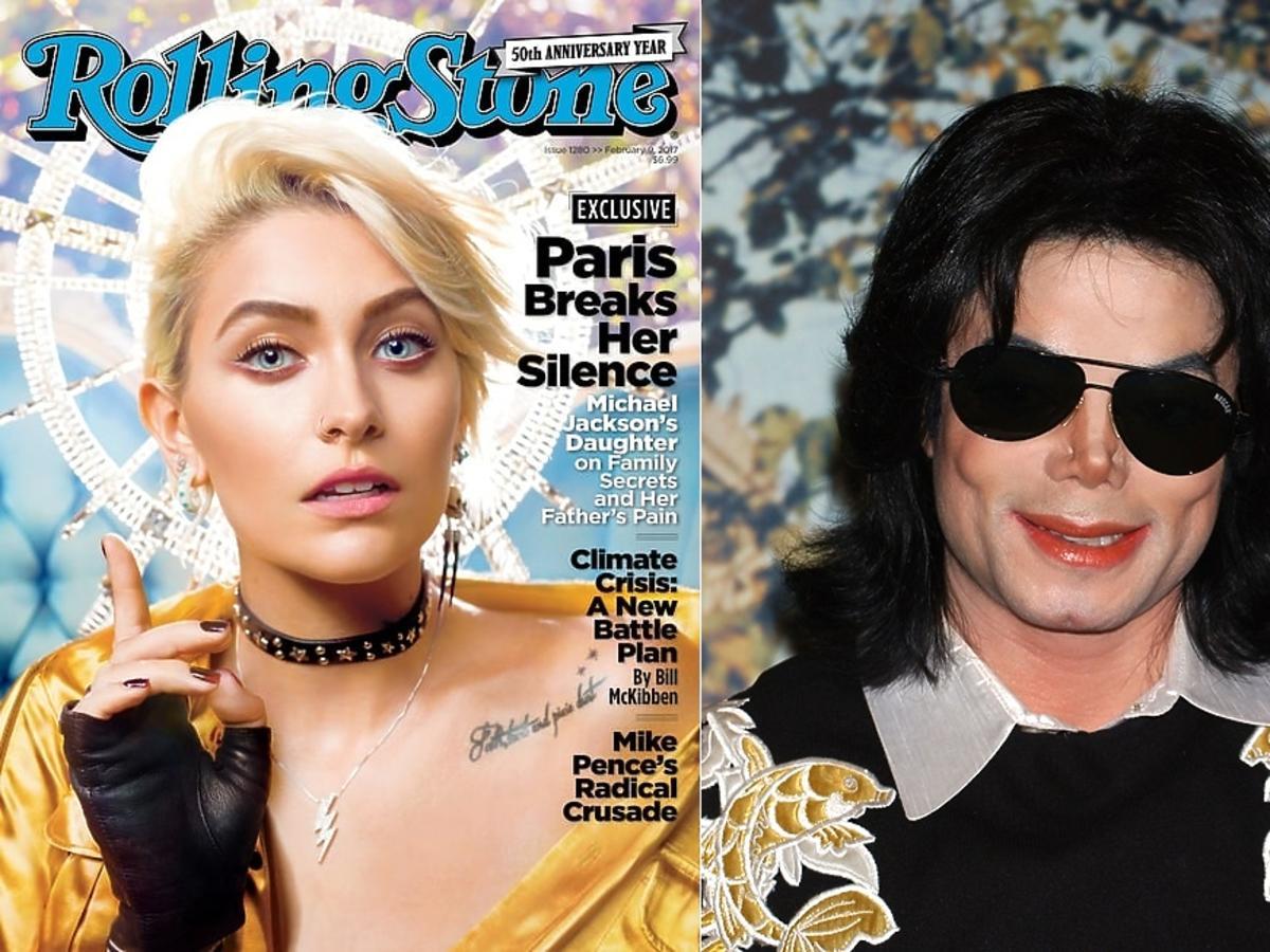"Paris Jackson na okładce ""Rolling Stone"""