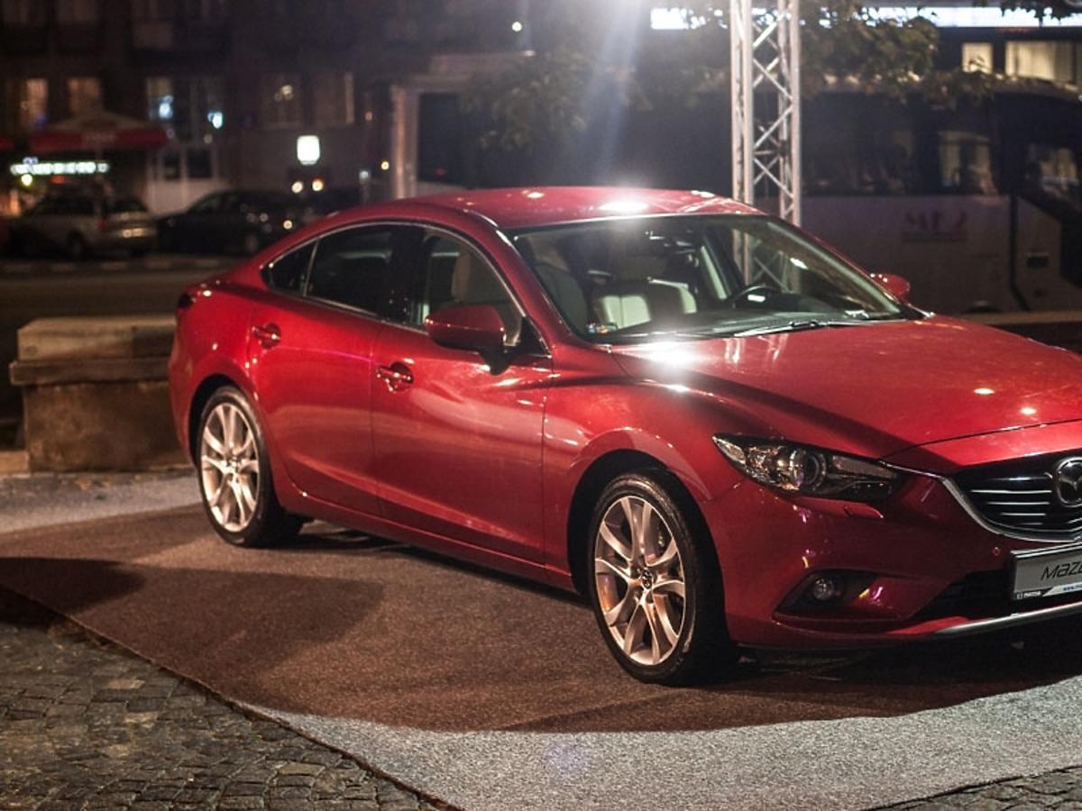 Partnerem gali Flesz Fashion Night była Mazda