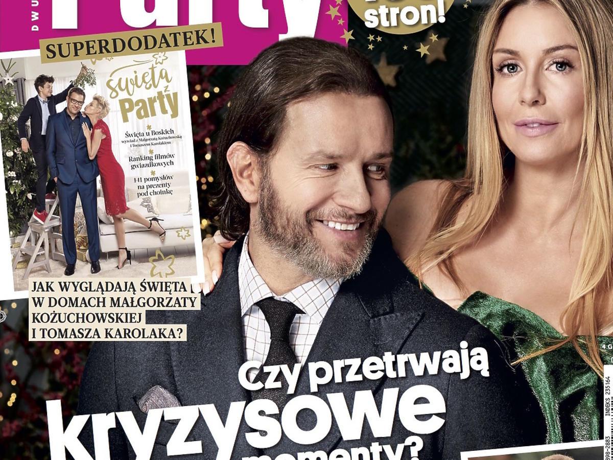 Party: Małgorzata Rozenek-Majdan i Radosław Majdan