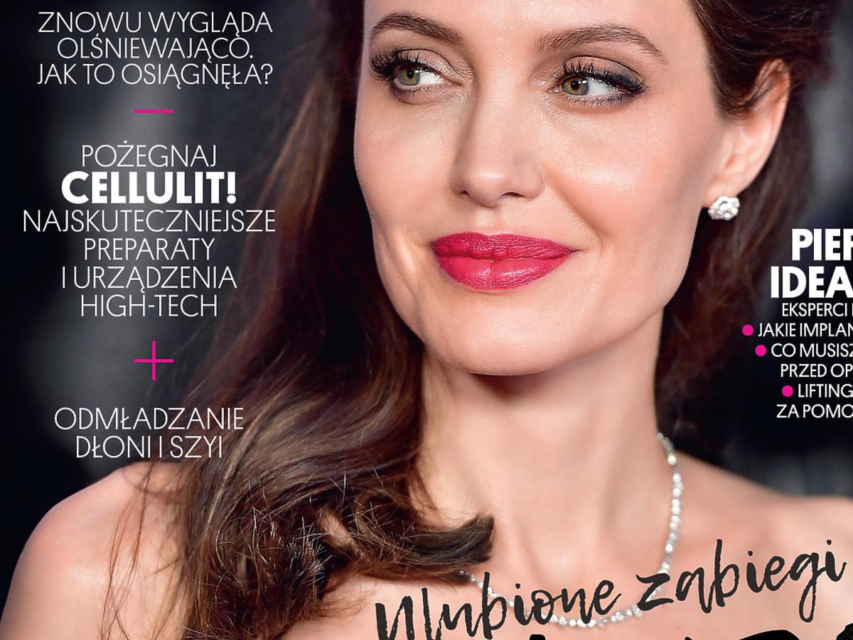 Party Medycyna Estetyczna z Angeliną Jolie na okładce