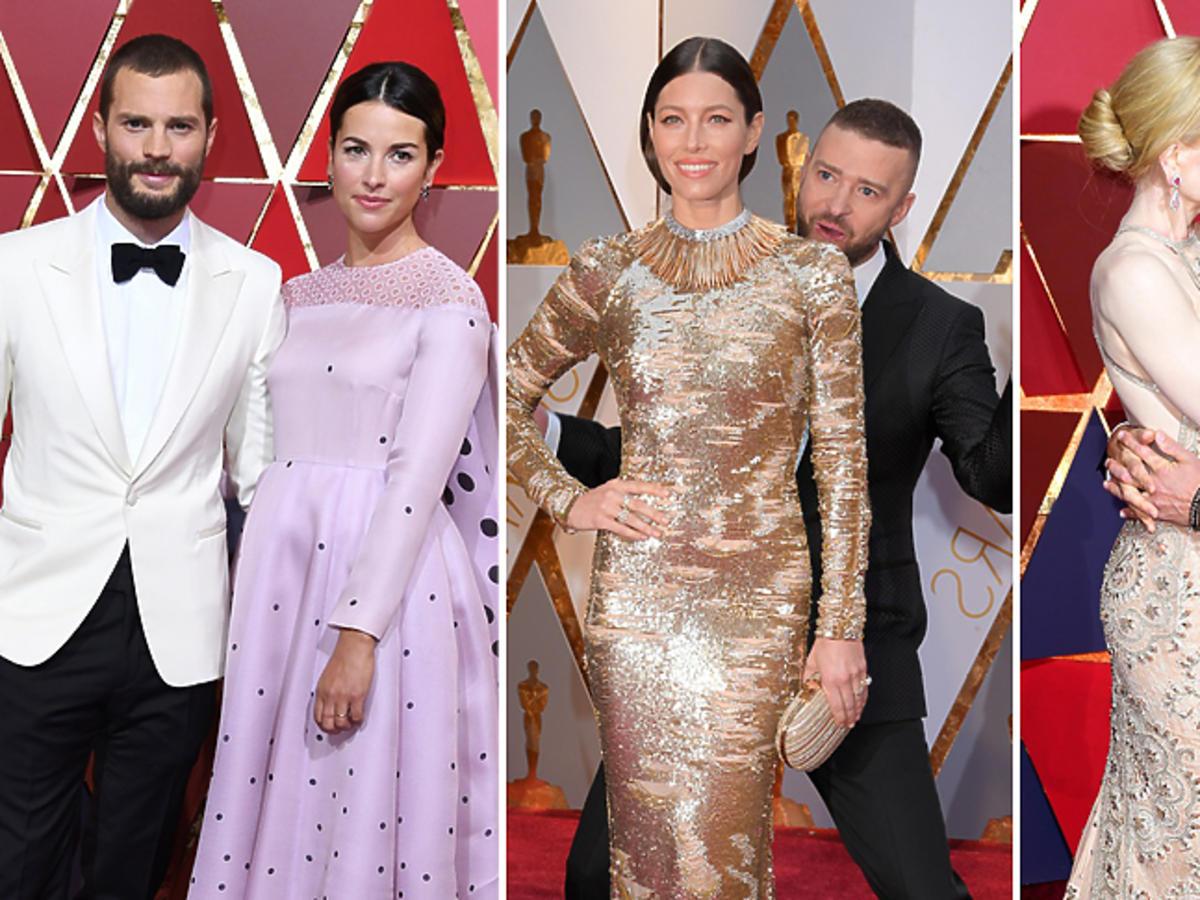 Pary na rozdaniu Oscarów 2017