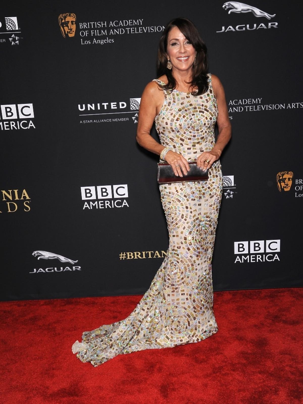 Patricia Heaton na rozdaniu nagród BAFTA