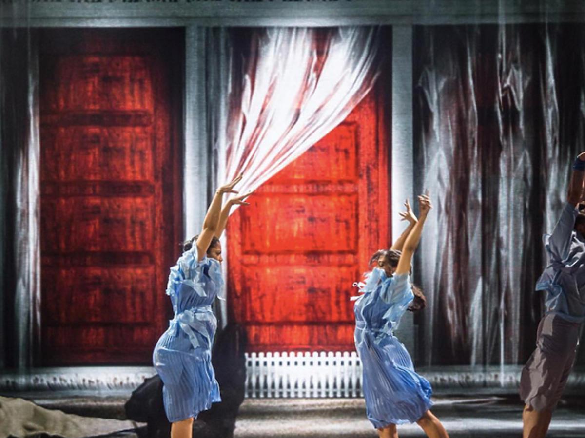 Patricia i Wiktoria Kazadi w finale dance dance dance