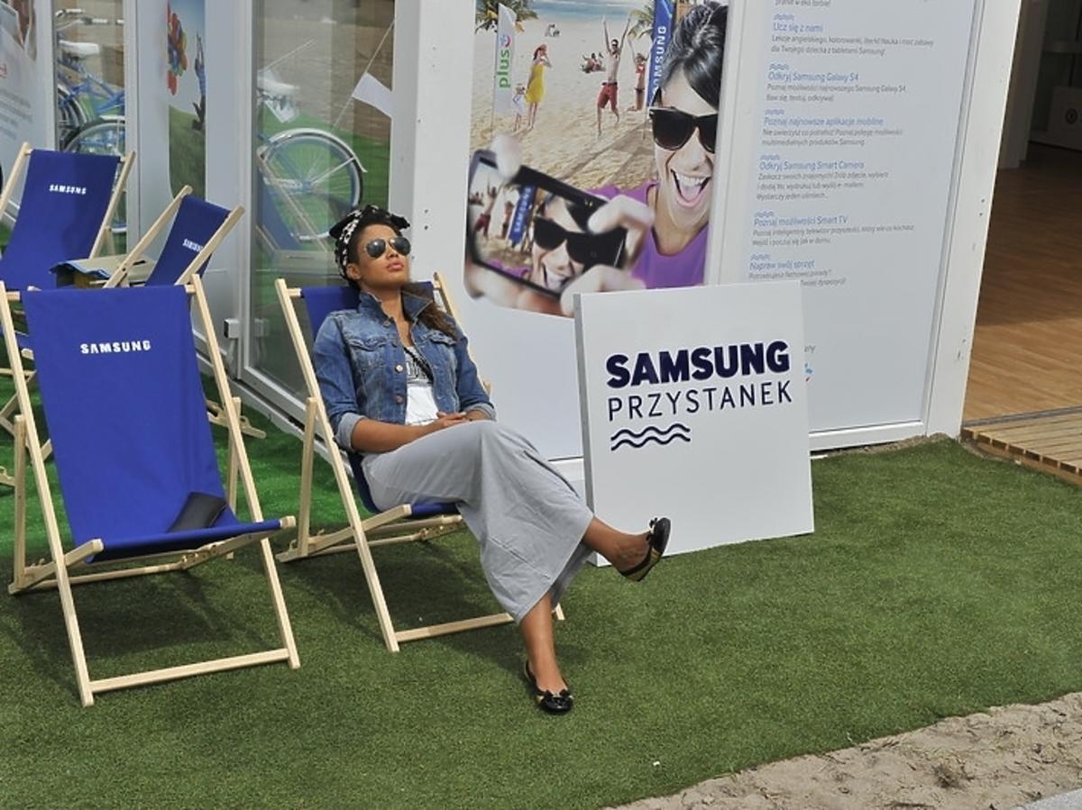 Patricia Kazadi na Przystanku Samsung w Darłowie