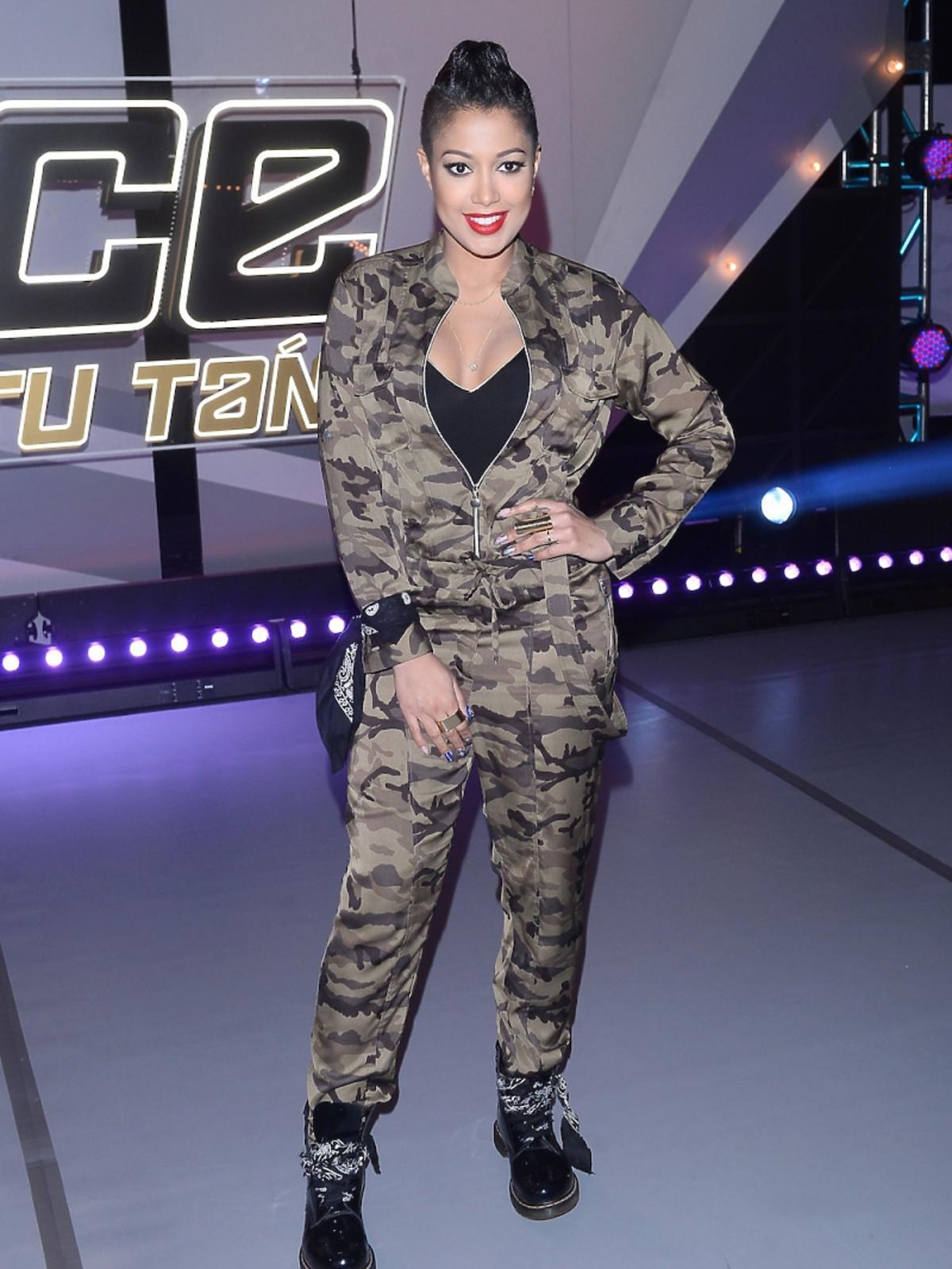 Patricia Kazadi w kostiumie moro