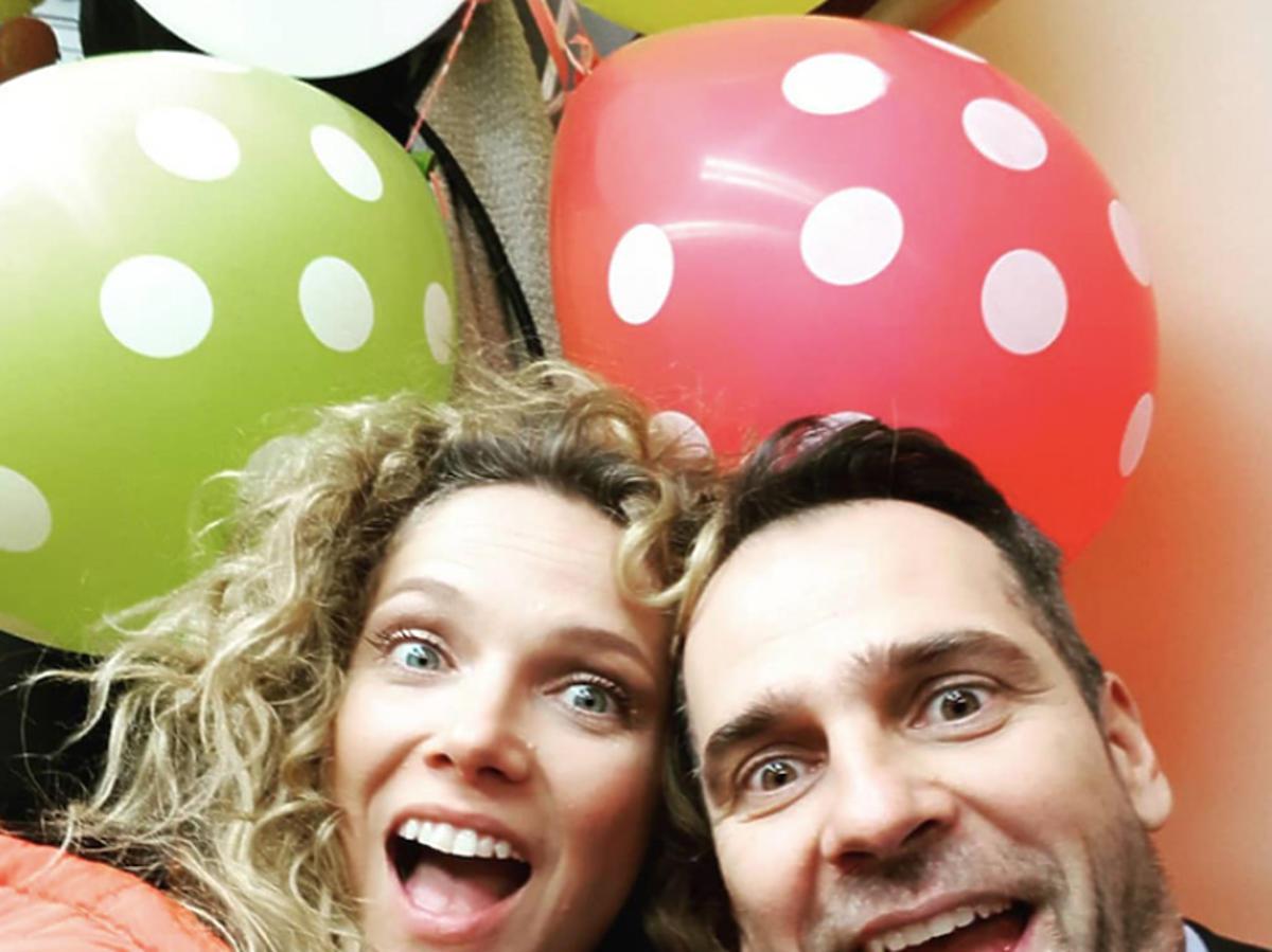 Patrycja, Wiktor z balonami