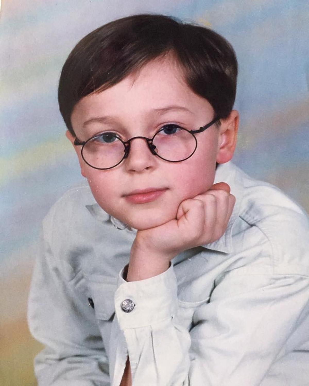 Patryk Pniewski pokazał zdjęcie ze szkoły