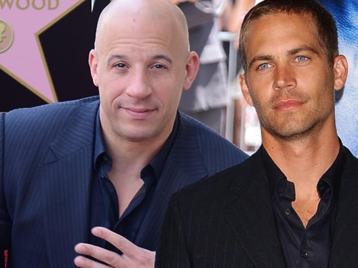 """Paul Walker i Vin Diesel w filmie """"Szybcy i Wściekli 7"""""""