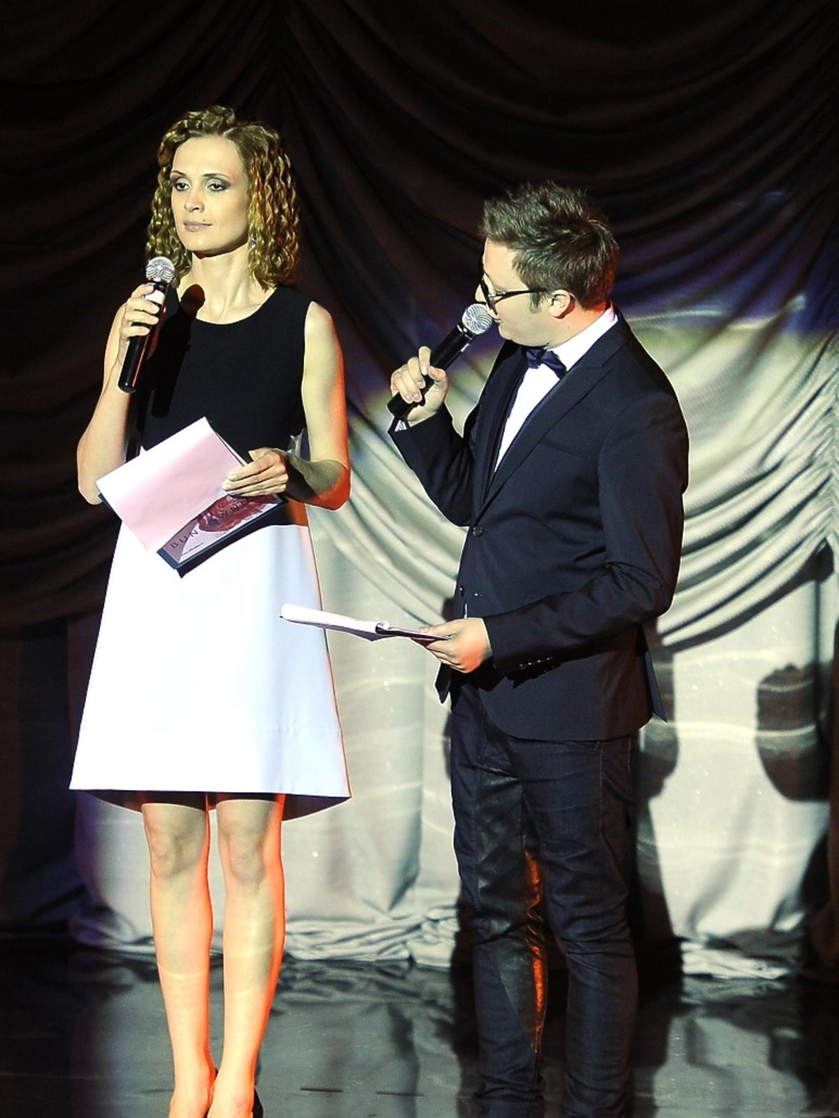 Paulina Chylewska i Mateusz Szymkowiak na Off Fashion w Kielcach