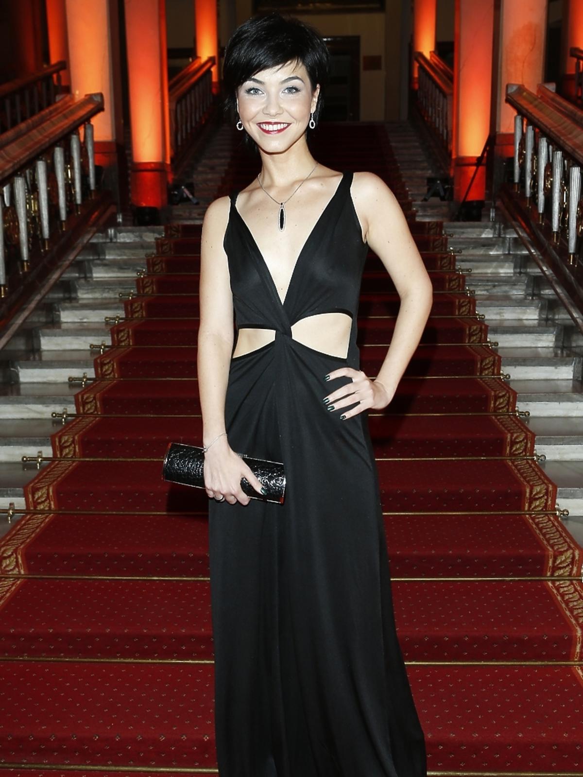 Paulina Drażba na imprezie Flesz Fashion Night