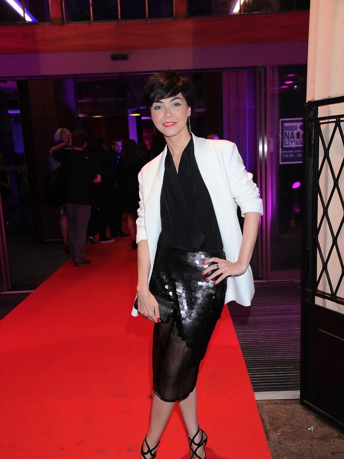 Paulina Drażba  na imprezie portalu internetowego