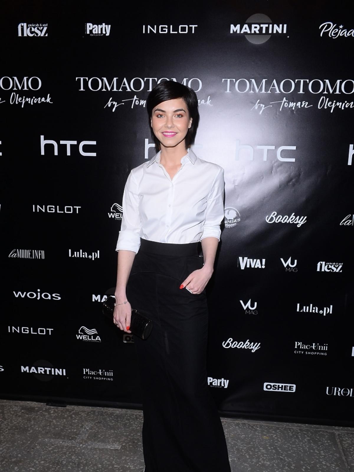 Paulina Drażba na pokazie Tomaotomo