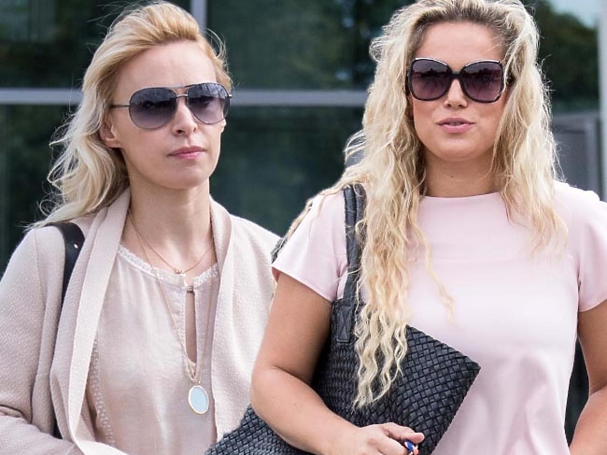 Paulina Holtz i Joanna Liszowska