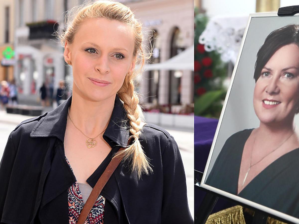 Paulina Holtz o pogrzebie Agnieszki Kotulanki