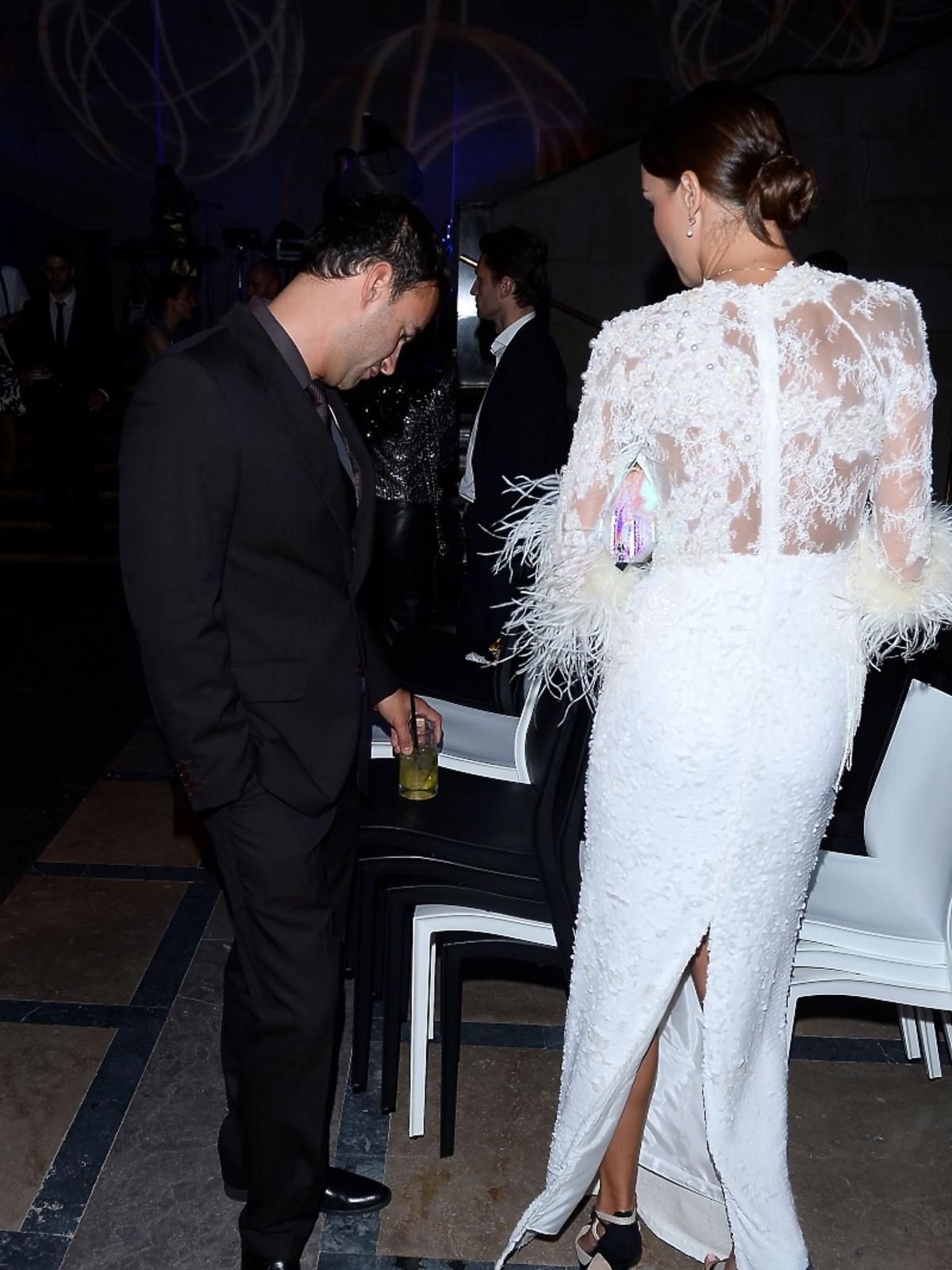 Paulina Krupińska i Tadeusz Bachleda-Curuś na Flesz Fashion Night
