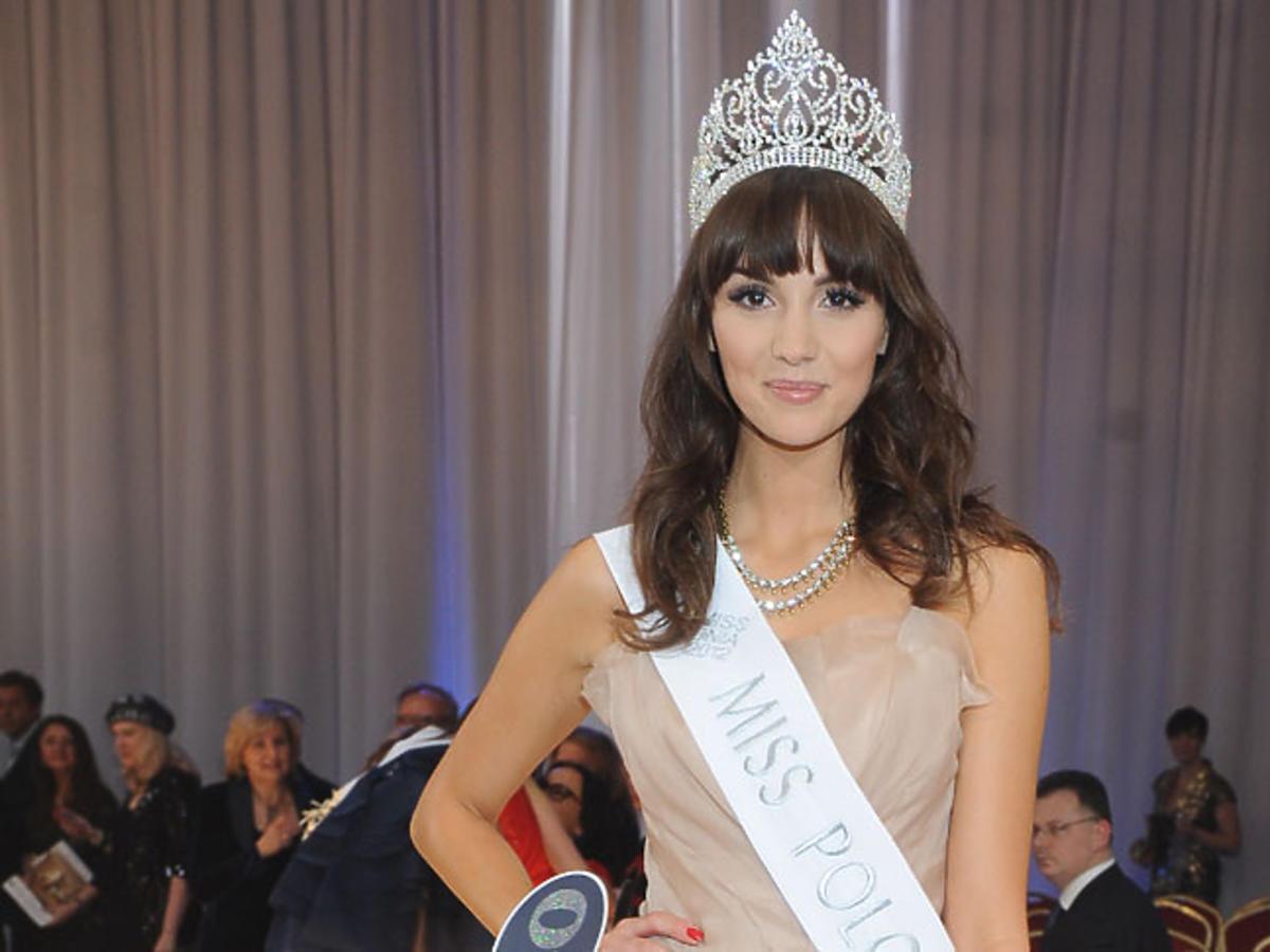 Paulina Krupińska Miss Polonia 2012 w koronie
