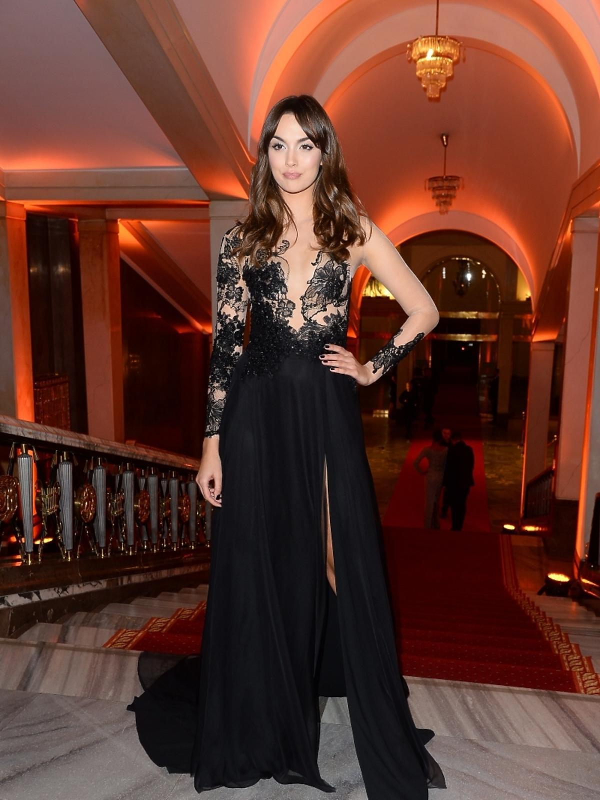 Paulina Krupińska na imprezie Flesz Fashion Night