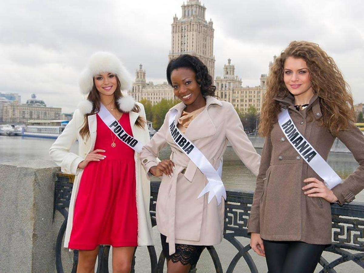 Paulina Krupińska w Moskwie na Miss Universe 2013