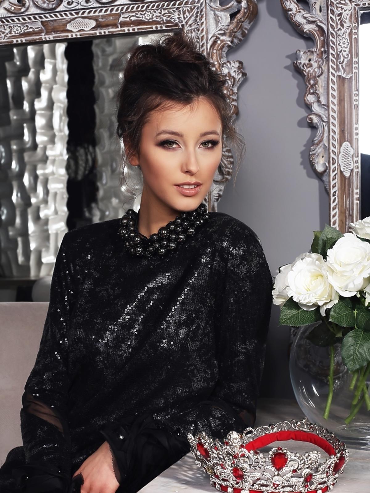 Paulina Maziarz - Miss Polski 2016 - w sesji koronacyjnej