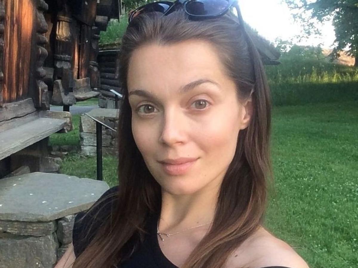 Paulina Papierska w czarnej koszulce