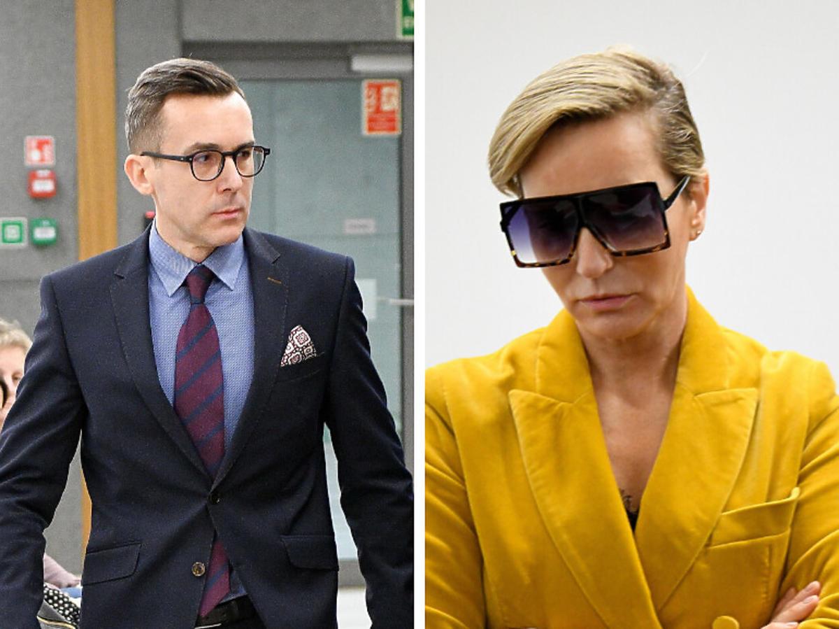 Paulina Smaszcz-Kurzajewska i Maciej Kurzajewski rozprawa sądowa