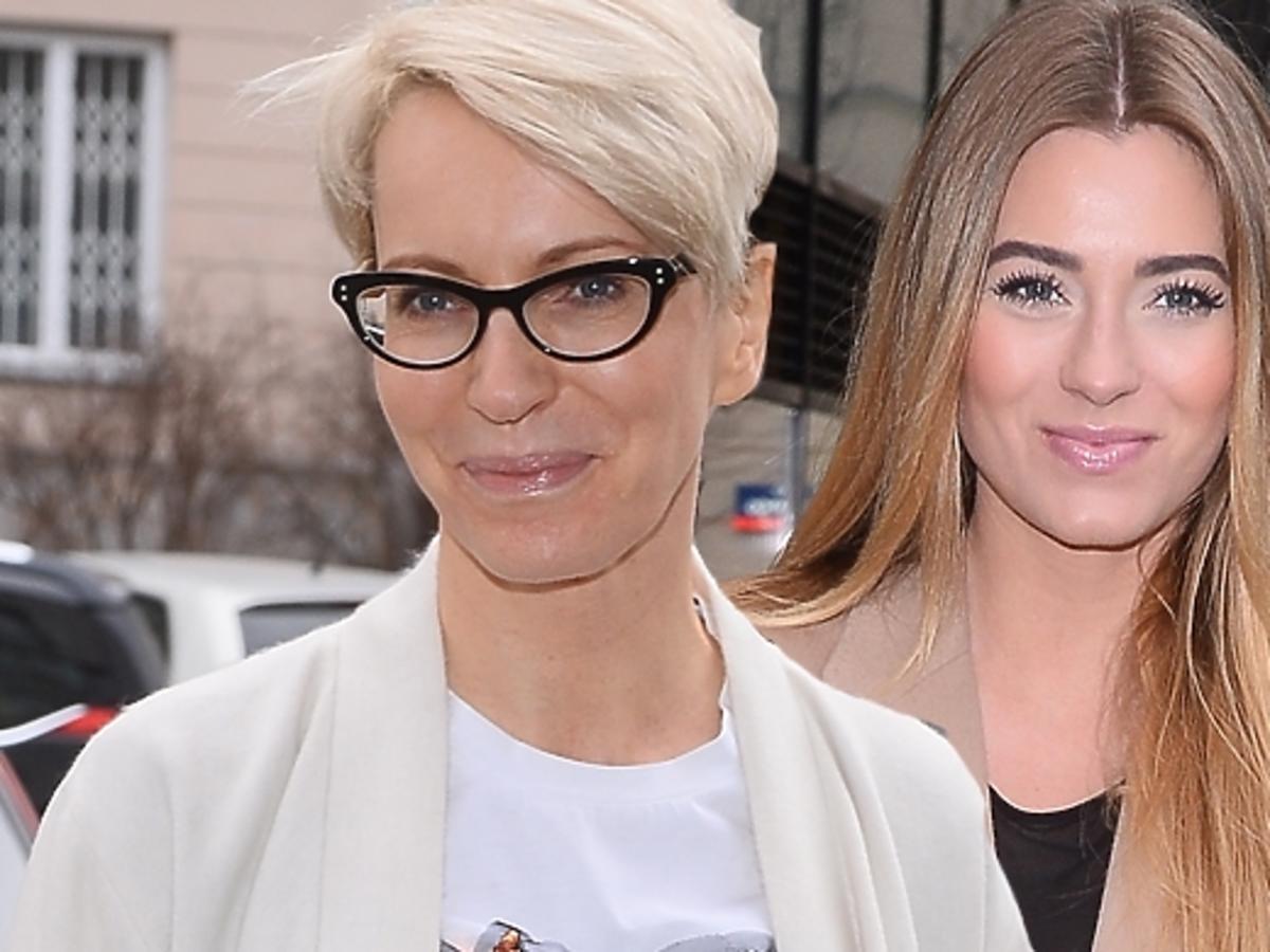 Paulina Smaszcz-Kurzajewska i Marcelina Zawadzka na prezentacji kolekcji The Cadess