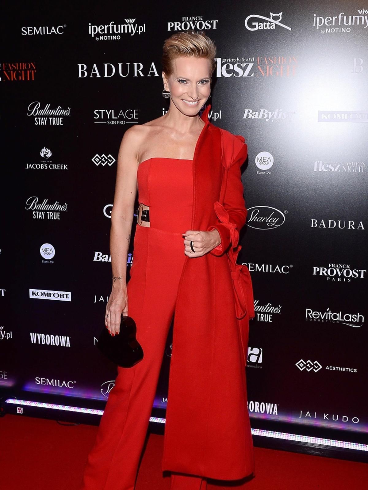 Paulina Smaszcz Kurzajewska na Flesz Fashion Night