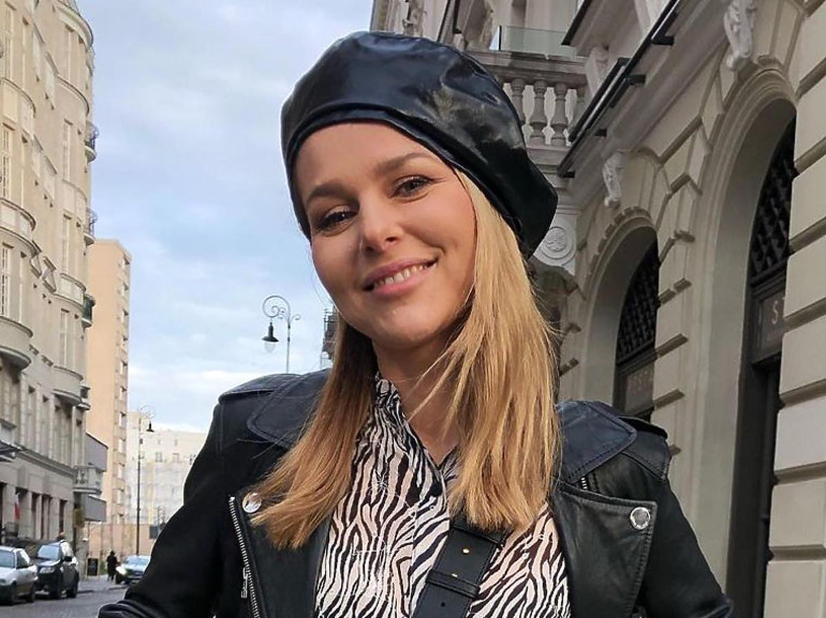 Paulina Sykut-Jeżyna w berecie