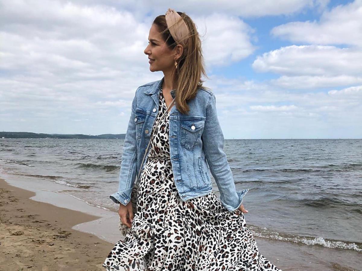 Paulina Sykut-Jeżyna w sukience Just Paul