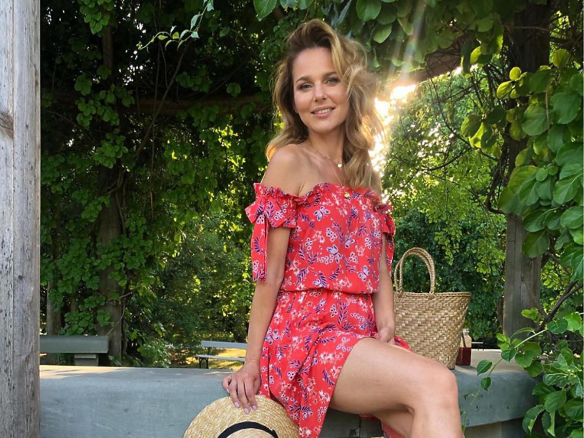 Paulina Sykut-Jeżyna w sukience Laurella