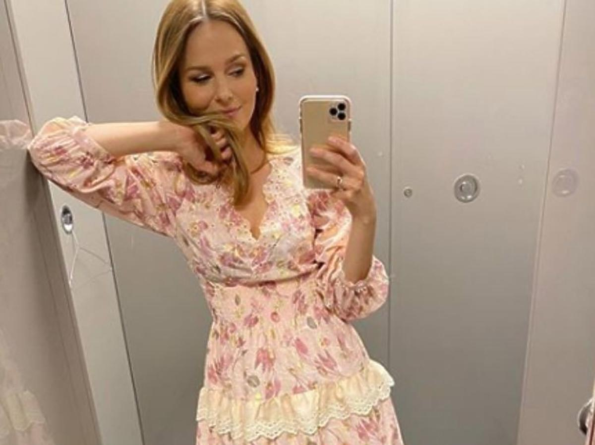 Paulina Sykut-Jeżyna w sukience Yoshe
