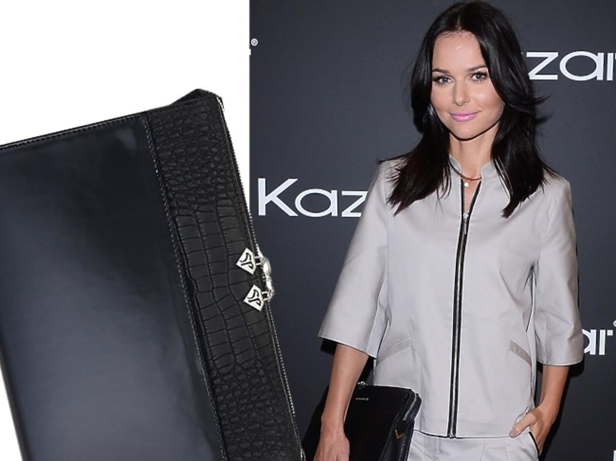 Paulina Sykut na prezentacji jesienno-zimowej kolekcji marki Kazar