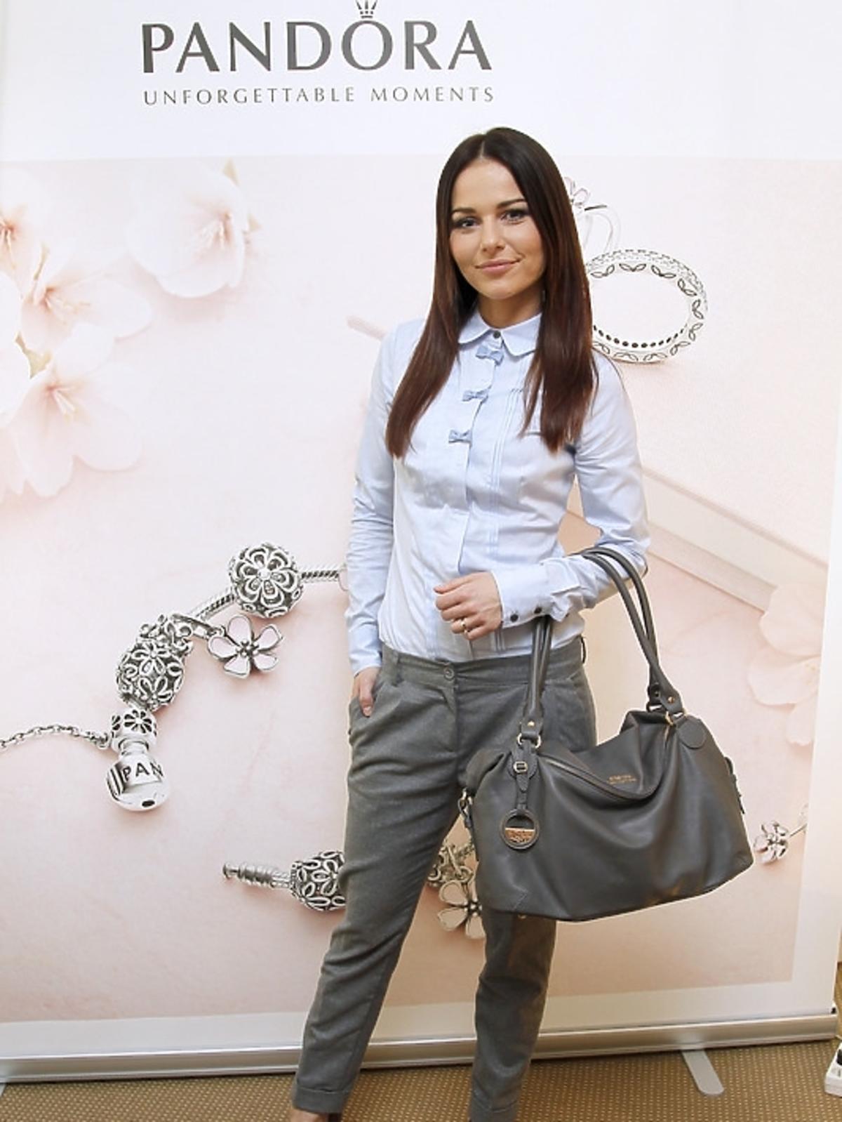 Paulina Sykut na prezentacji kolekcji Pandora wiosna/lato 2013
