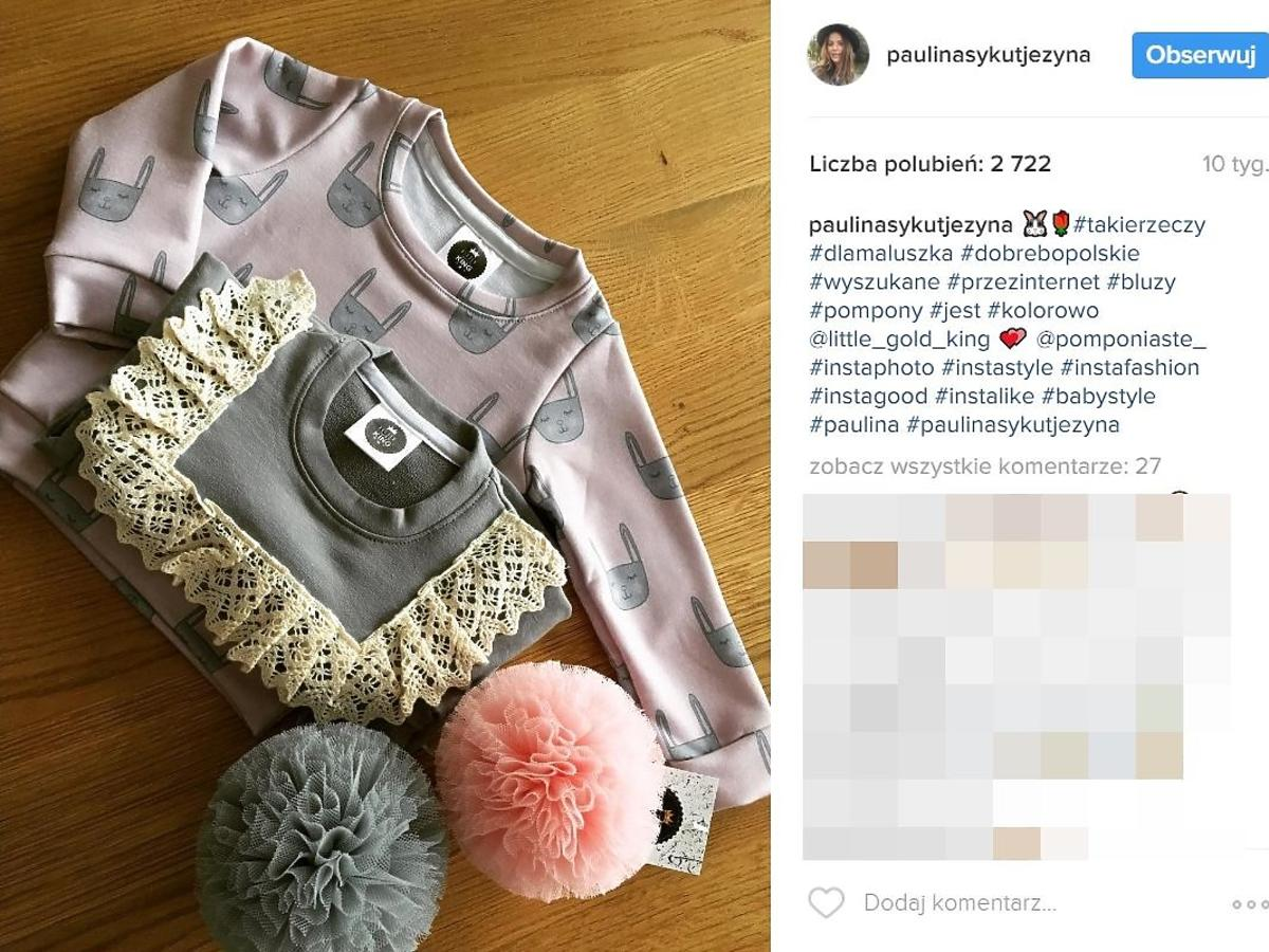 Paulina Sykut pokazała ubranka dla córki