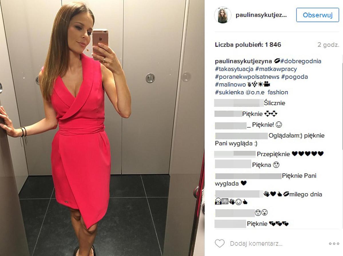 Paulina Sykut promienieje w ciąży