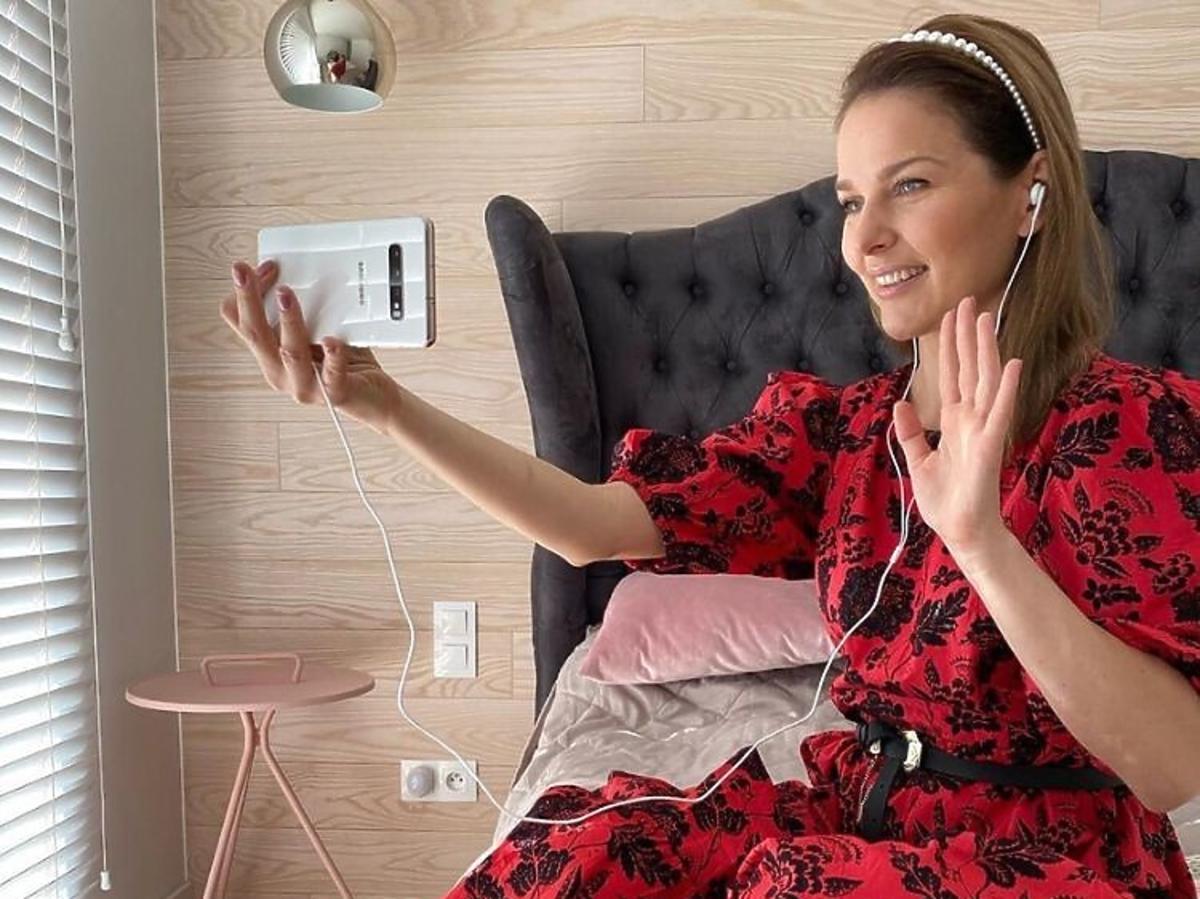 Paulina Sykut w najmodniejszej sukience z wyprzedaży w Zara