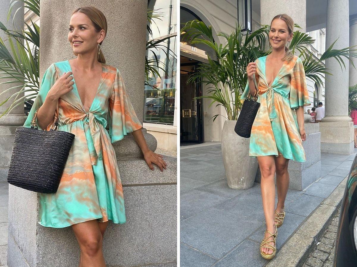 Paulina Sykut w sukience Bonprix
