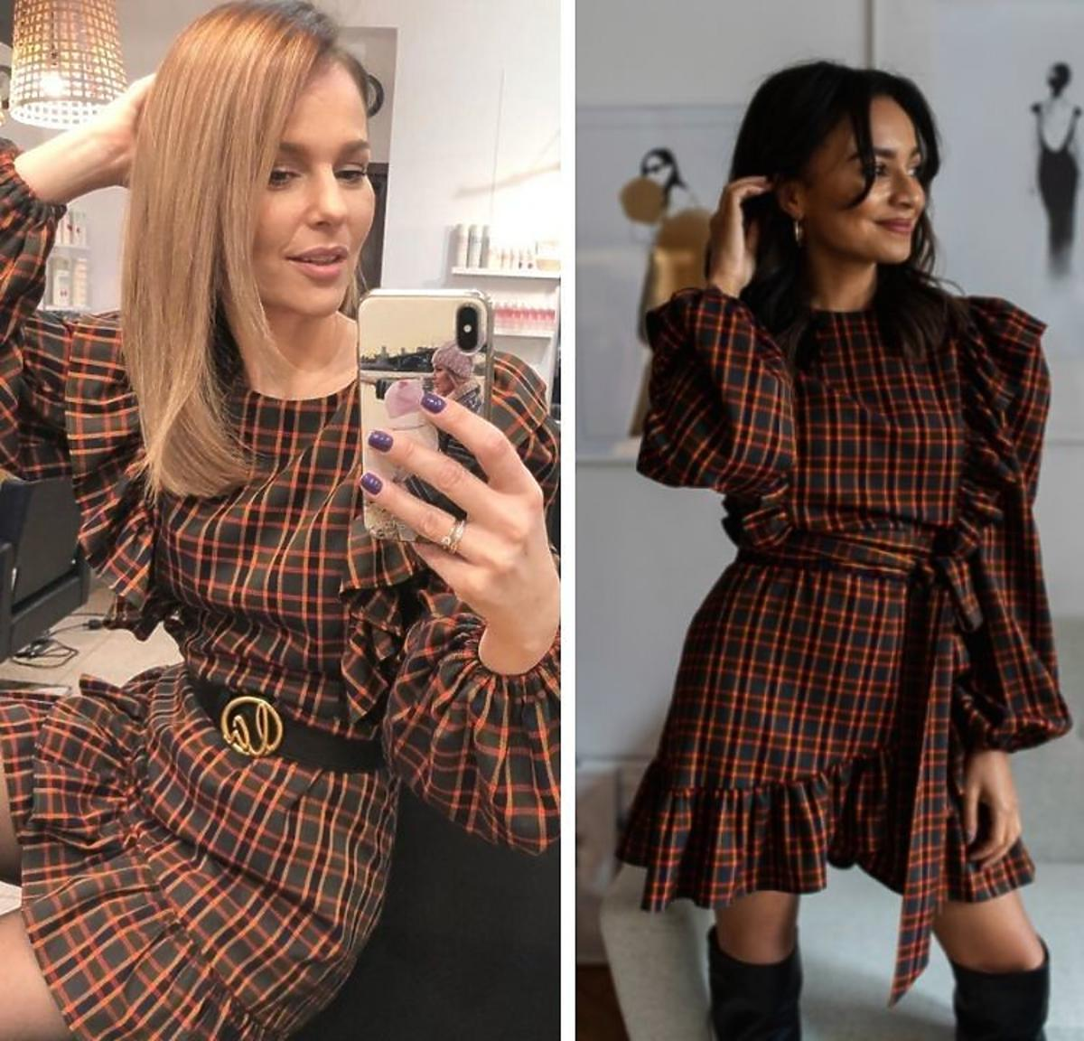 Paulina Sykut w sukience Laurella