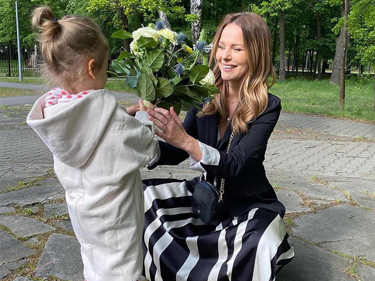 Paulina Sykut w sukience z Zary