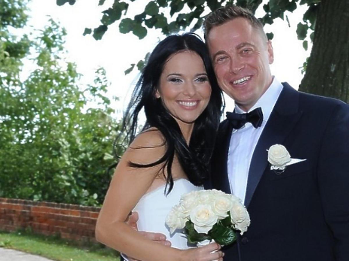 Paulina Sykut w sukni ślubnej