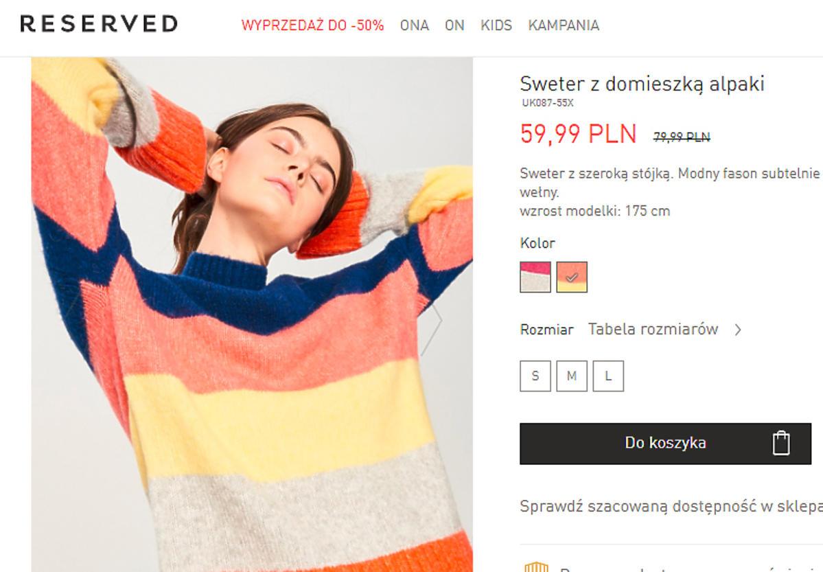 Paulina Sykut w swetrze za mniej niż 60 zł