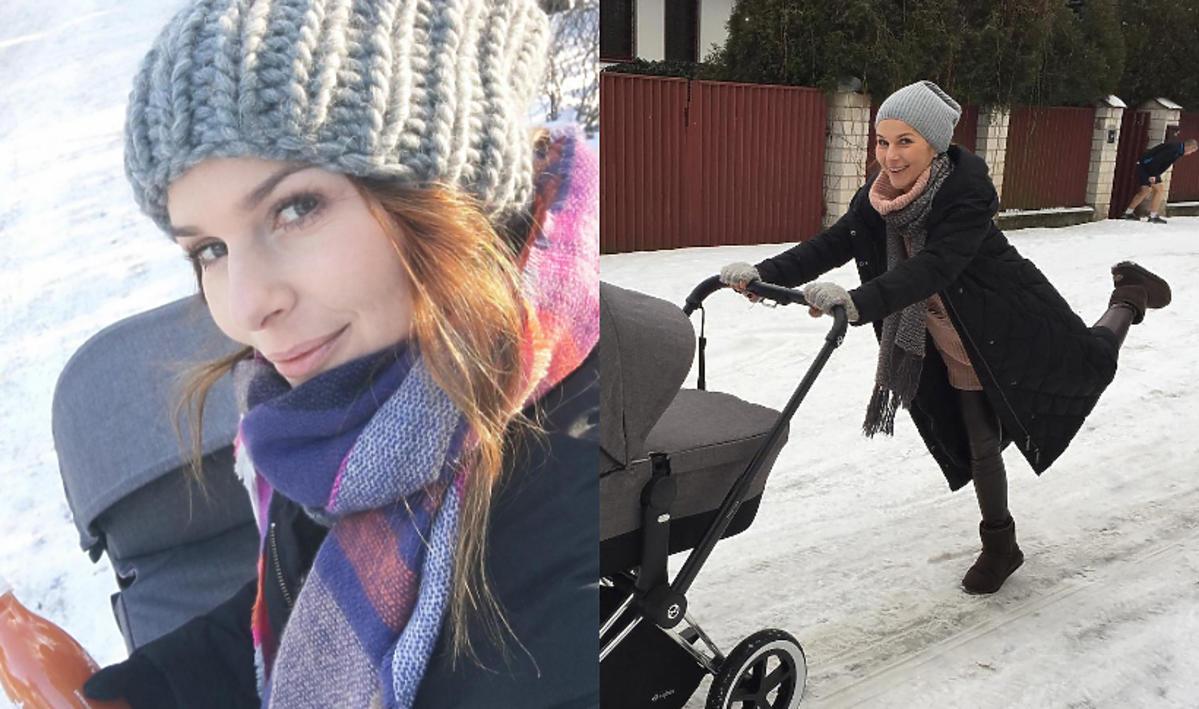 Paulina Sykut z córką