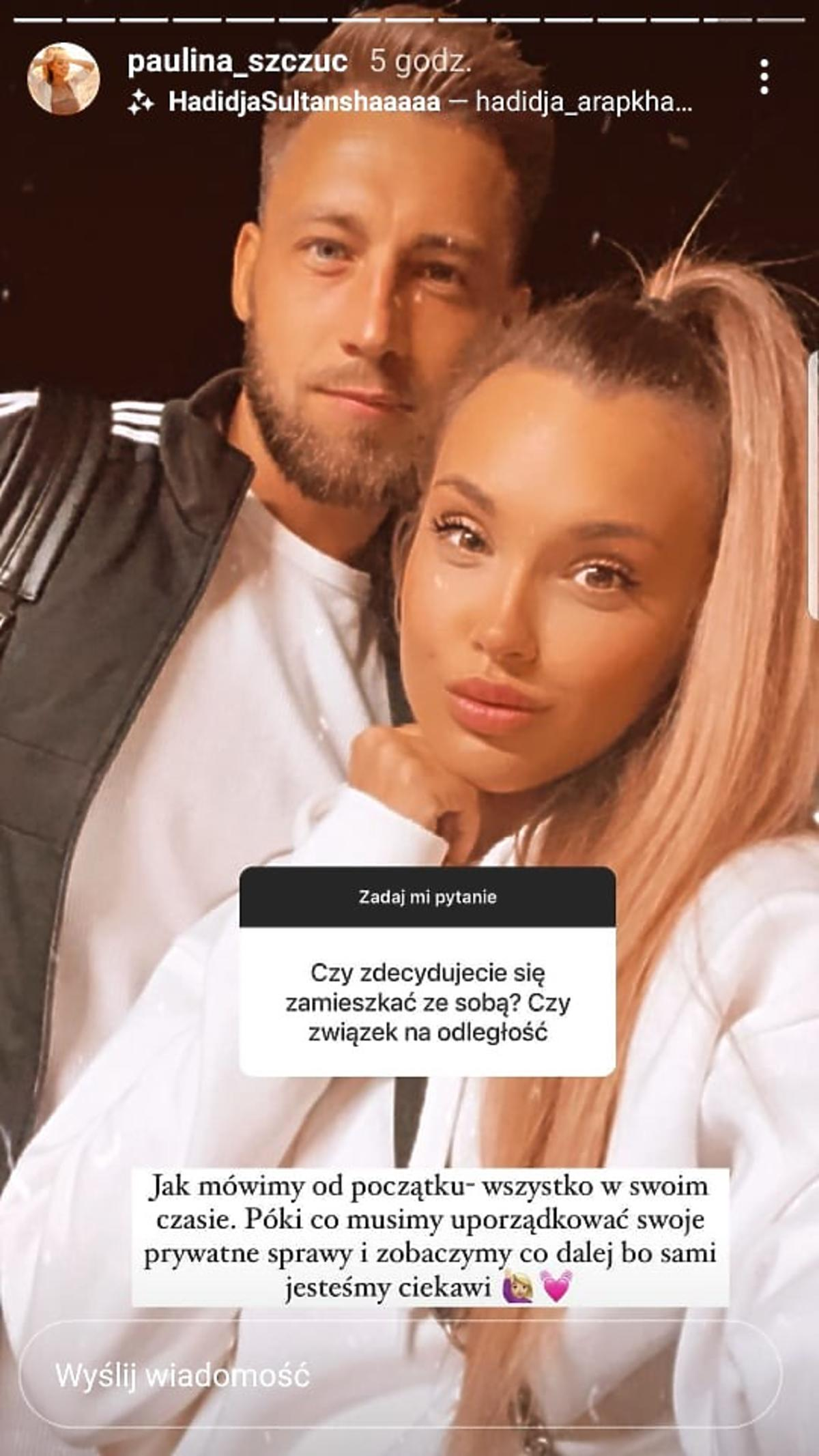 Paulina z Love Island zamieszka z Andrzjem?