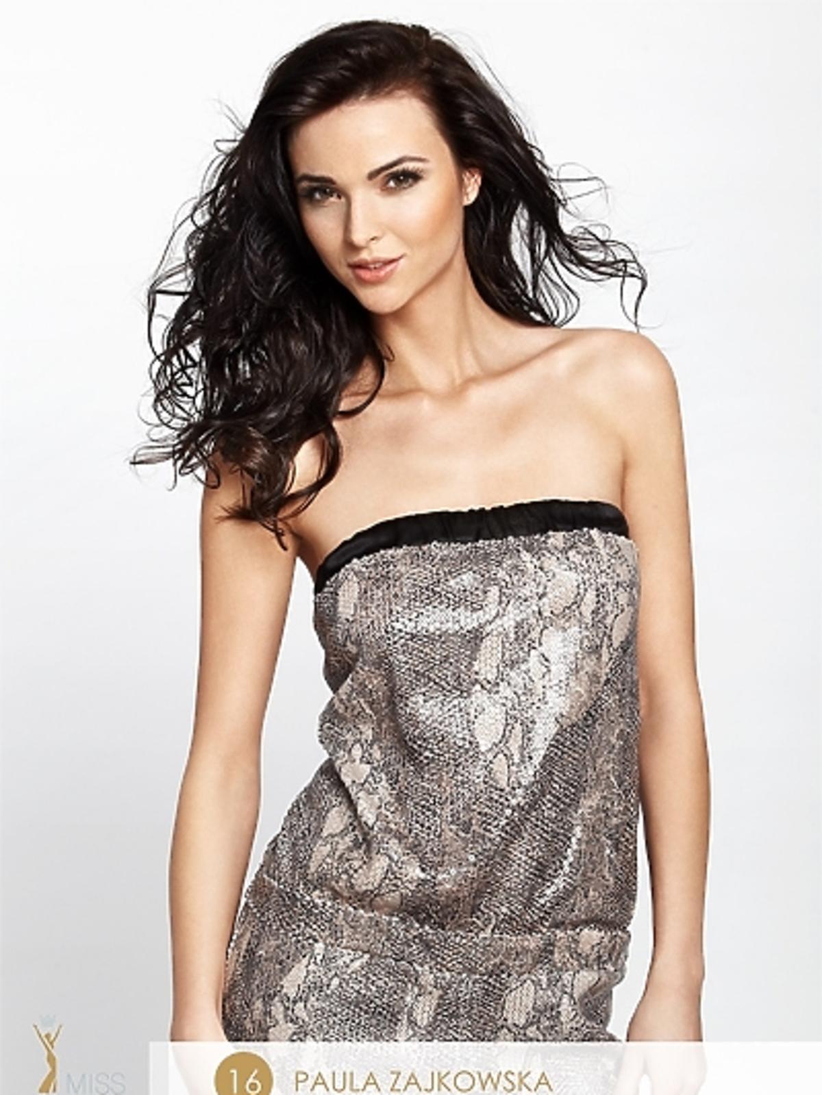 Paulina Zajkowska - kandydatka do tytułu Miss Polonia 2012