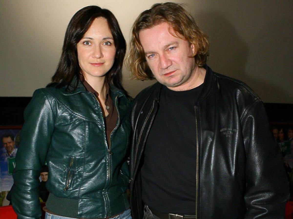 Paweł Królikowski i Ilona Ostrowska