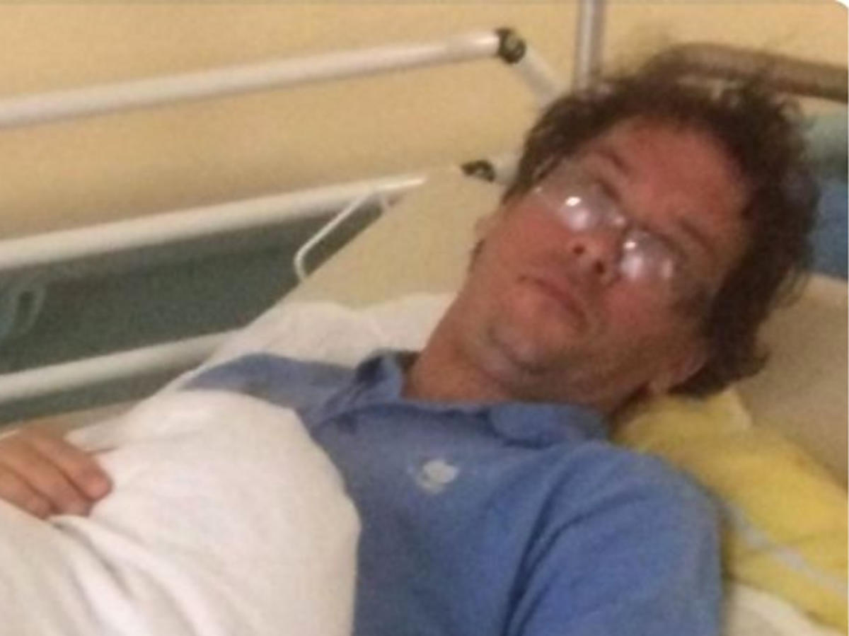 Paweł Kutny trafił do szpitala