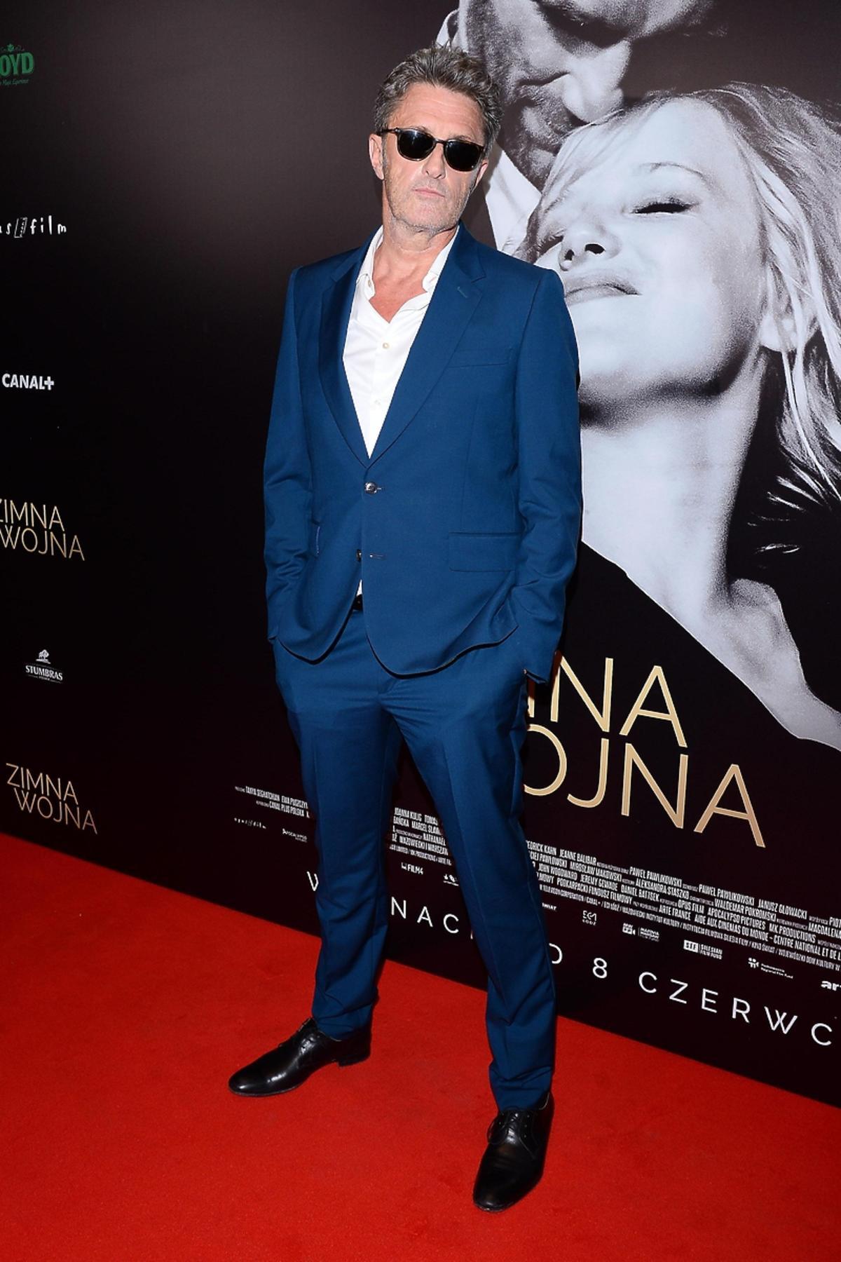 Paweł Pawlikowski na premierze filmu