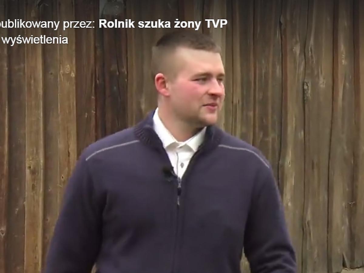Paweł - uczestnik trzeciej edycji Rolnik szuka żony