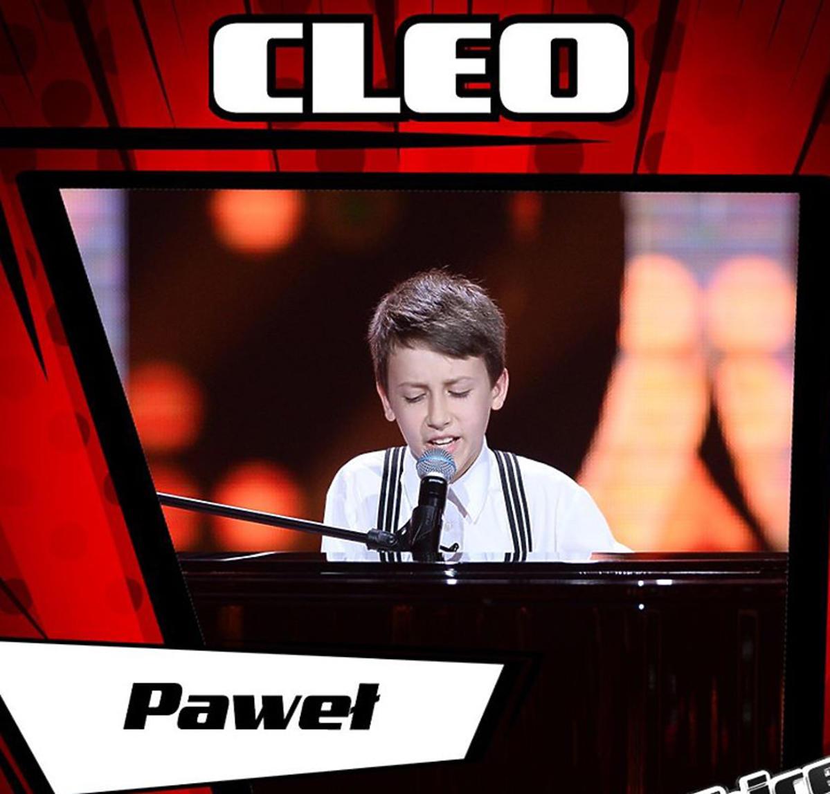 Paweł z drużyny Cleo