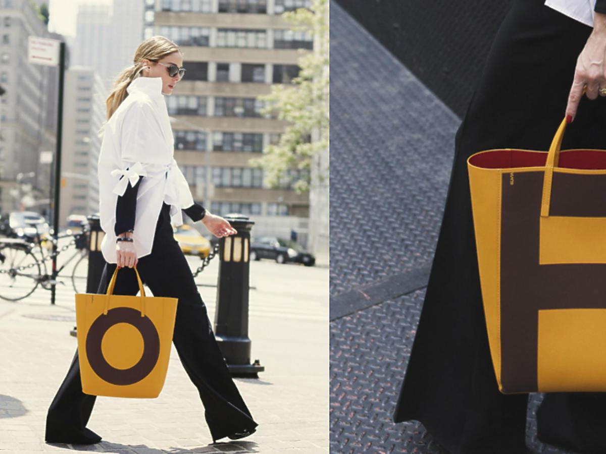 Personalizowana torba Caroliny Herrery stworzona dla modowych ekspertek! Zobacz, czemu wybrała ją Olivia Palermo